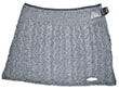 Cable Miniskirt Silver MS16301