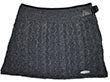 Cable Miniskirt Charcoal MS16302