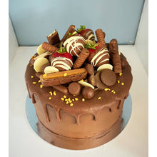 Load image into Gallery viewer, Ultimate Chocolate Drip Cake