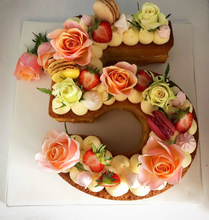 Load image into Gallery viewer, Elegant Number Cake