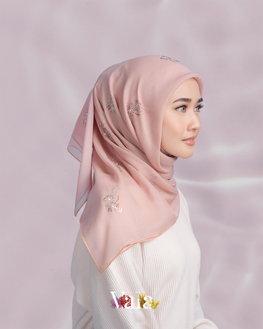 Bawal Shazneen 25 (Dusty Rose)