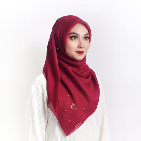 Bawal Amias (Plum Red)