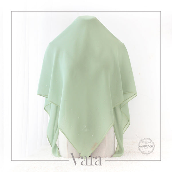 Tudung warna soft mint - valascarves.com