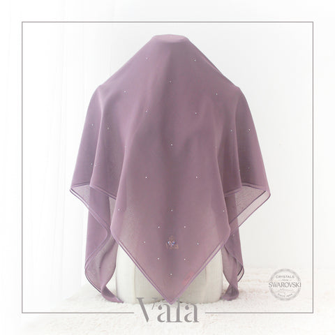 Tudung Bawal Square | Amias | Purple