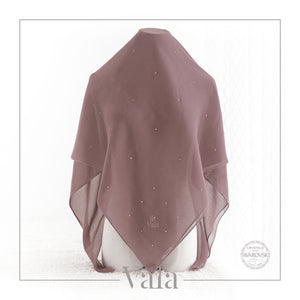 Bawal Mini 60 Dots (Moist Grape)