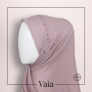 Tudung Bawal Design Crown | Vala Scarves