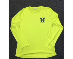 Bellahouston Harriers Ladies LS Yellow Top