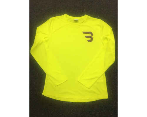 BRR Ladies LS Yellow Top