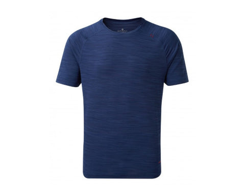 Ronhill Infinity Air-Dry SS Tee - Midnight Blue