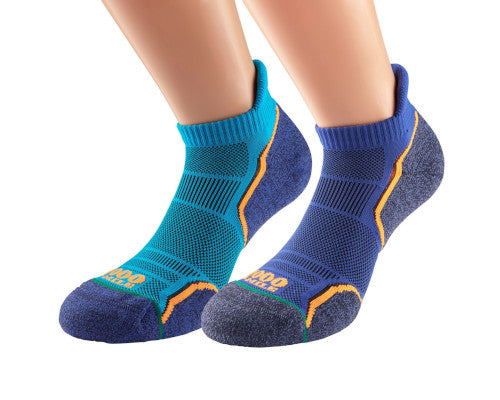 1000 Mile Run Socklet - Twin Pack