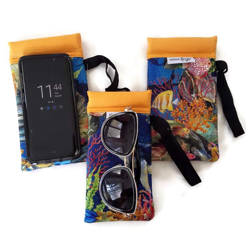 Calypso Cell Phone or Sunglass Case