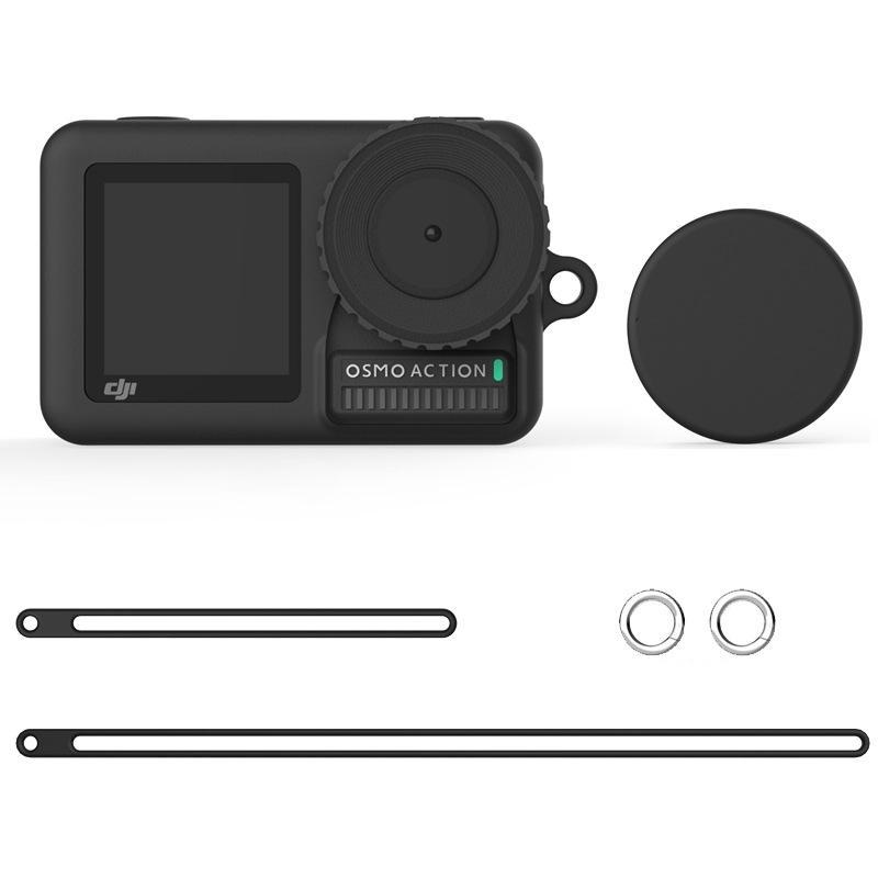 AMZER Silicone Protective Case with Lens Cover &