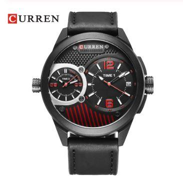 ALLIED Curren Leather Watch | 540463