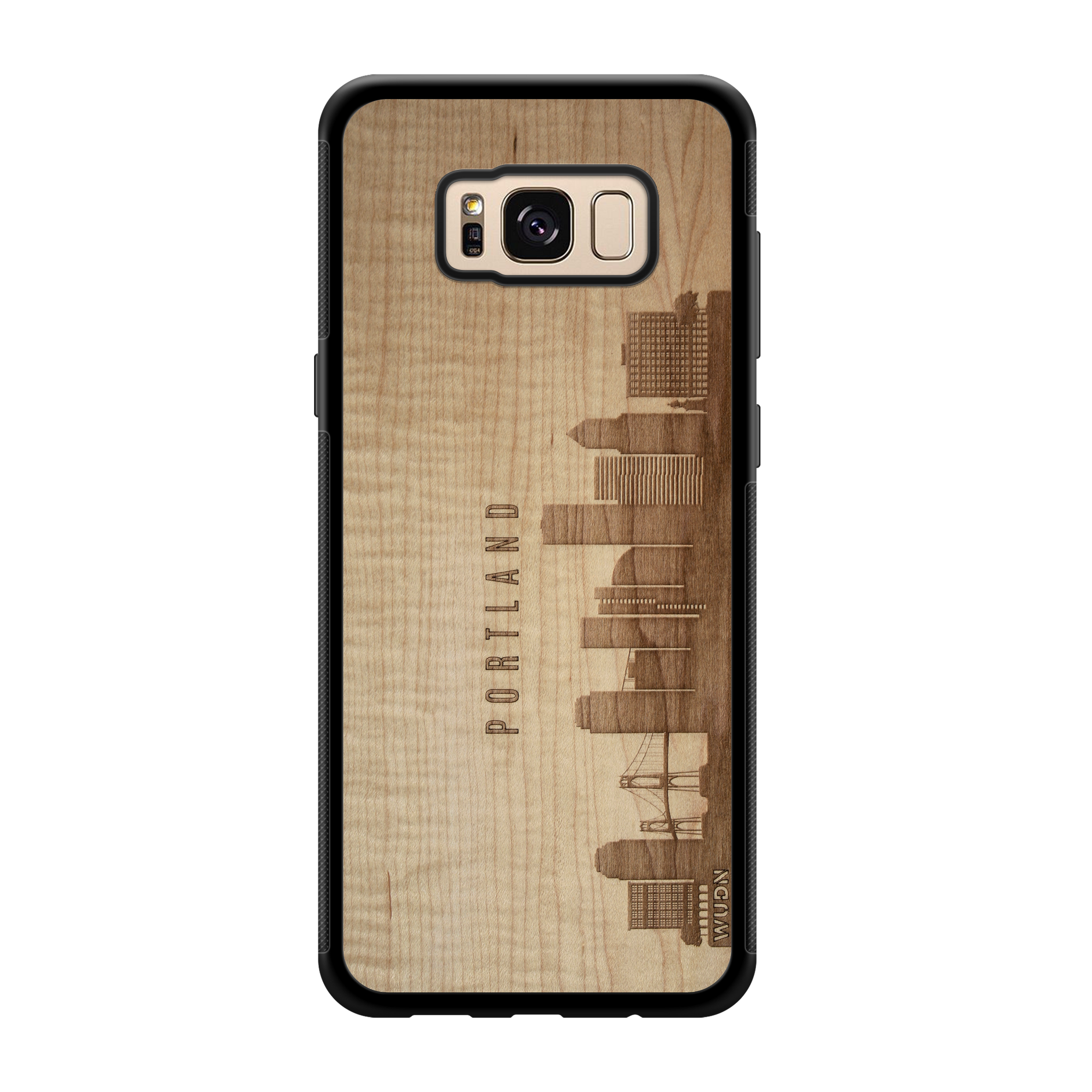 CityScape Wooden Phone Case | Portland OR