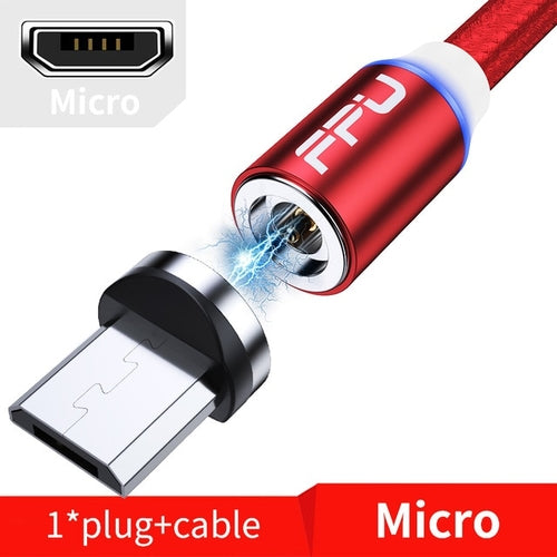 FPU 3m Magnetic Micro USB Cable For iPhone Samsung