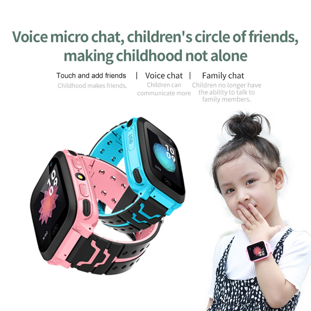 Kid Smart Watch GPS Tracker IP67 Waterproof