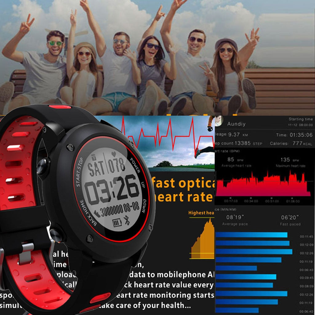 UW90 Outdoor Sport Smart Watch GPS Fitness Heart