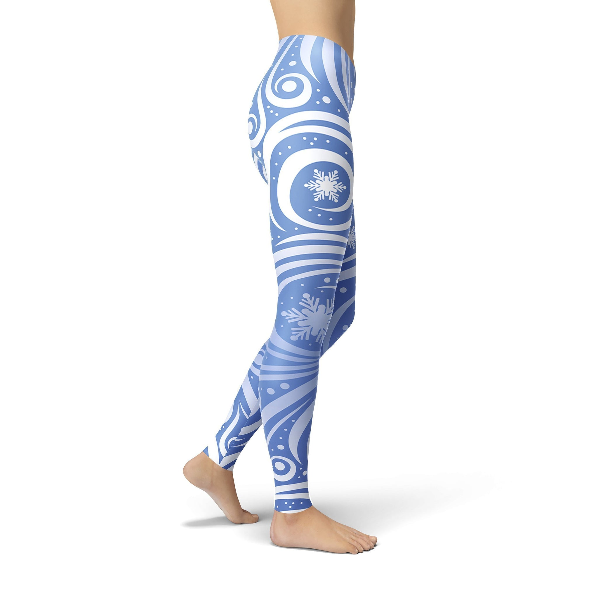 Jean Blue Winter Swirl