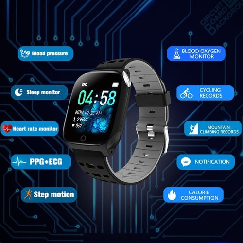 smartwatch F16 Color Screen Smart Watch Sleep