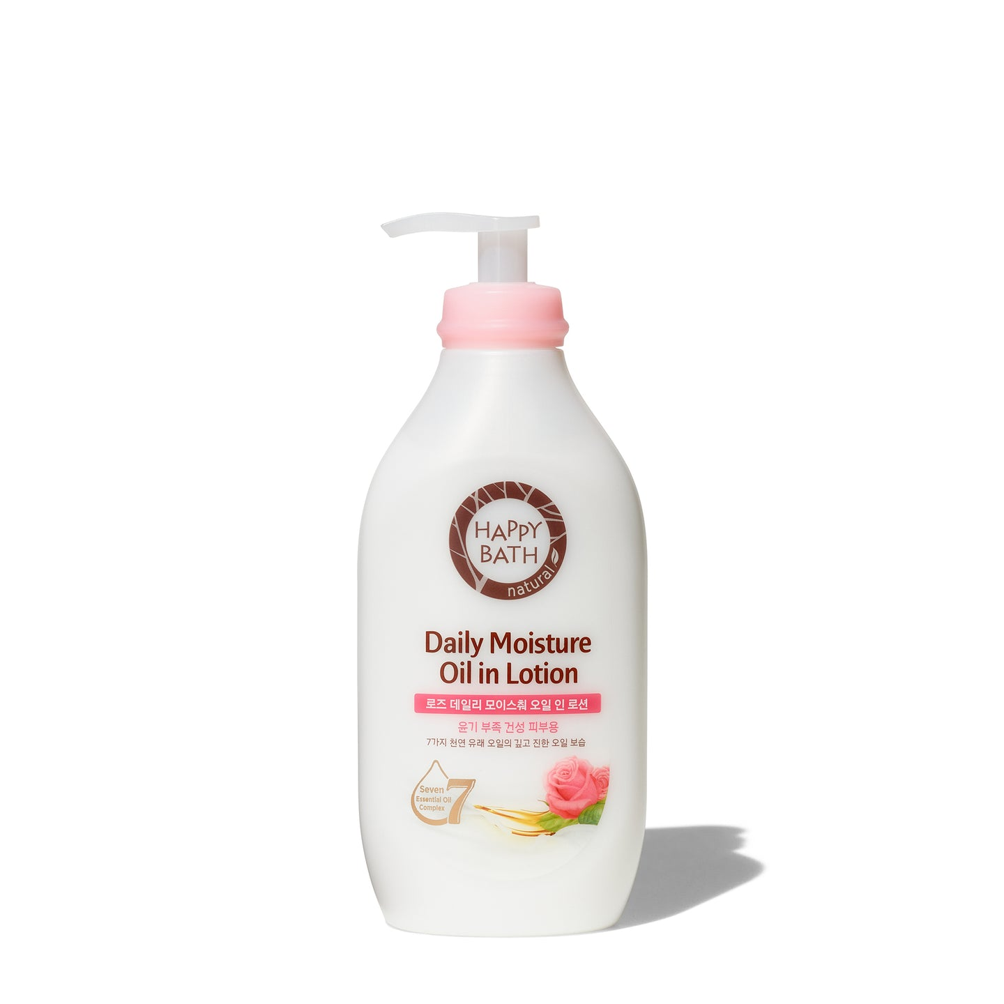 Happy Bath<br>Rose Oil in Lotion