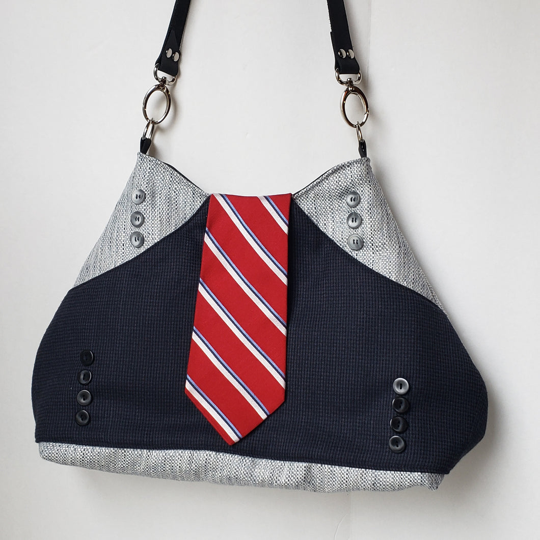 Signature Neck Tie bag