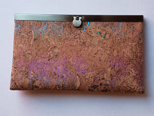Load image into Gallery viewer, Cork wallet with brass closure