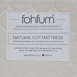 Cot Mattress options