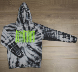 ASHES TIE DYE HOODED SWEATER