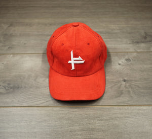 FIRE RED FATHER HAT