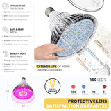 Grow Light Bulb Lens Protector