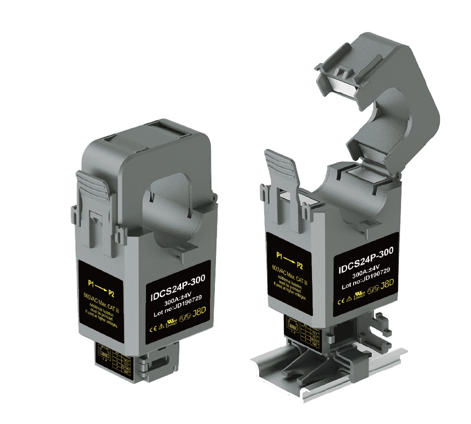 Split core DC Current Transducer IDCS-24P