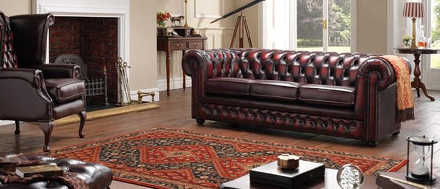 Chesterfield three seater sofa
