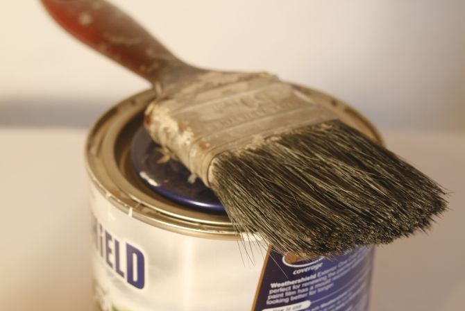 How to paint wooden cabinets