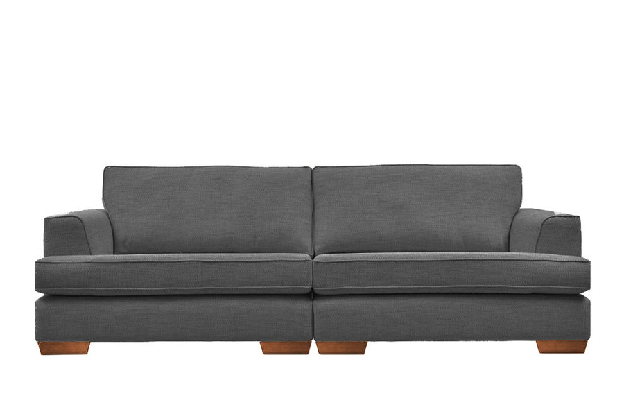 Brunello | 4 Seater Sofa | Santi Charcoal