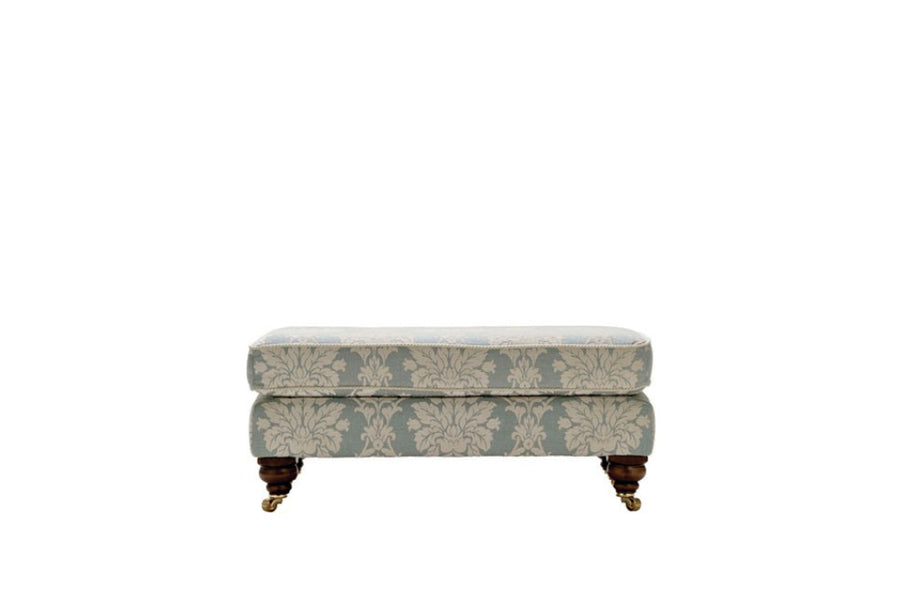 Balmoral | Bench Footstool | Scana Duck Egg