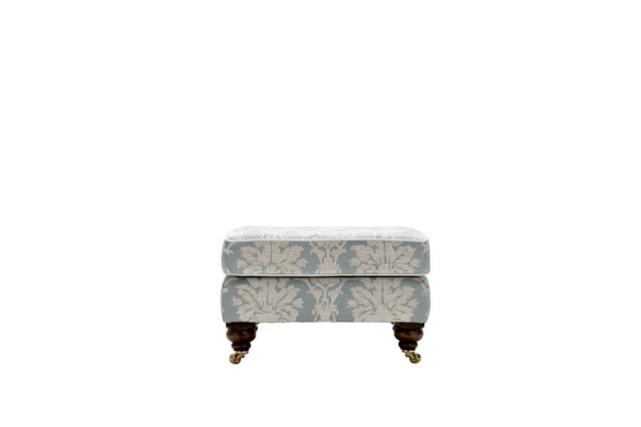 Balmoral | Footstool | Scana Duck Egg