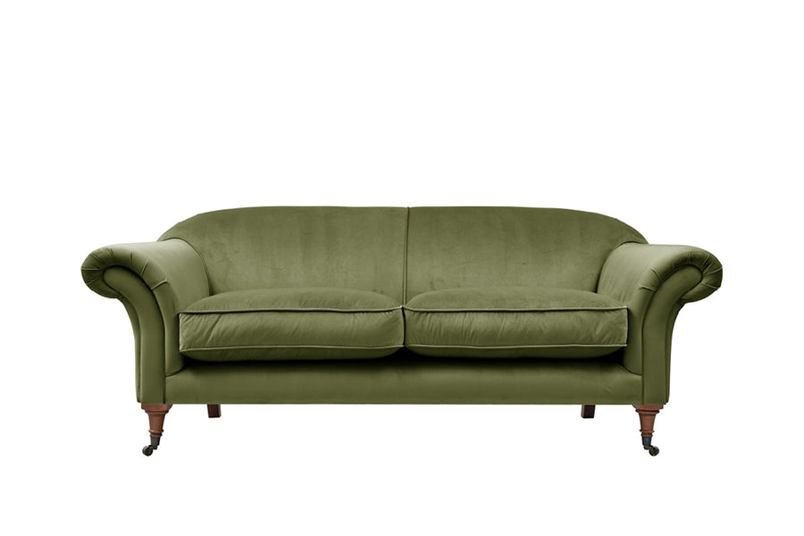 Austen | 3 Seater Sofa | Opulence Olive Green