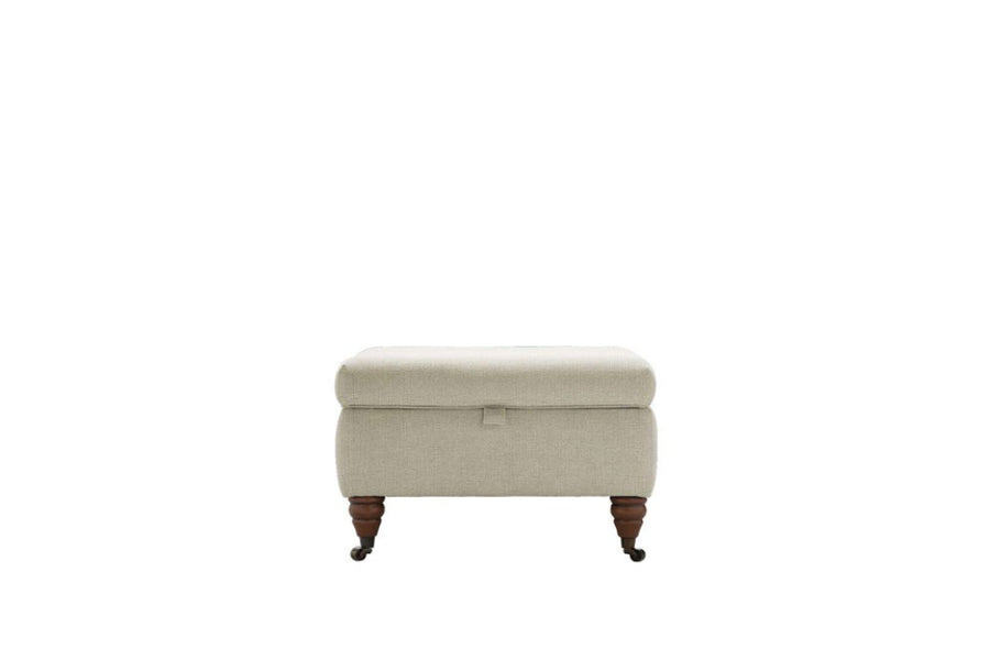 Florence | Storage Stool | Flanders Taupe