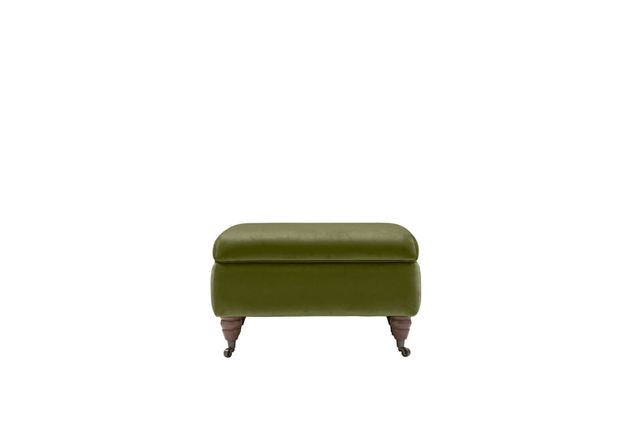 Florence | Storage Stool | Opulence Olive Green