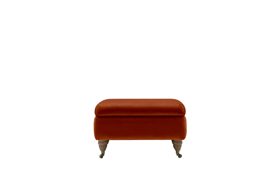 Florence | Storage Stool | Opulence Sunset