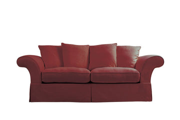 Charlotte | 3 Seater Sofa | Kingston Burgundy