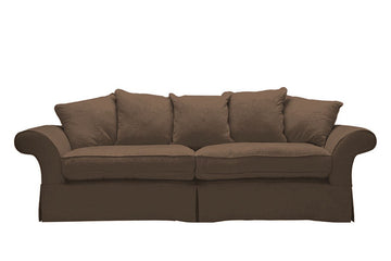 Charlotte | 4 Seater Sofa | Kingston Mocha