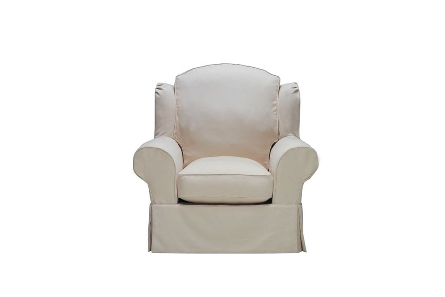 Charlotte | Highback Chair | Miami Ivory