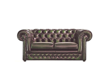 Chesterfield | 2 Seater Sofa | Antique Green