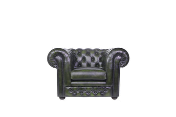 Chesterfield | Club Chair | Antique Green