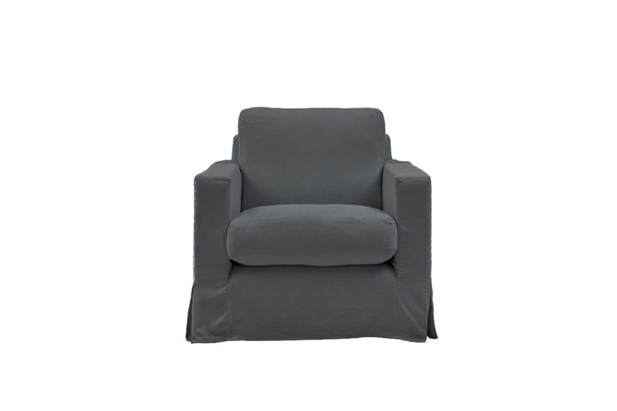 Kate | Armchair | Mae Charcoal