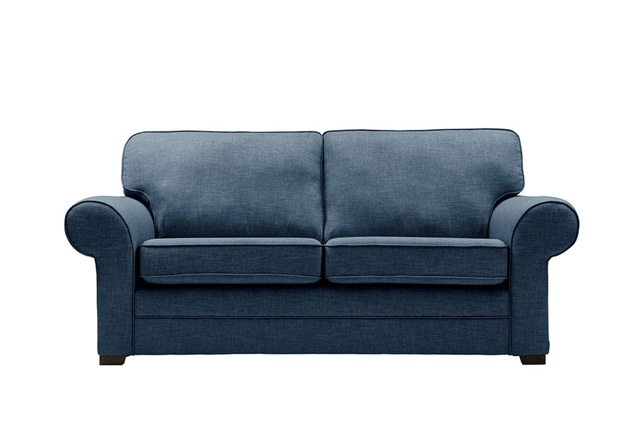 Elgar | 3 Seater Sofa | Linoso Midnight