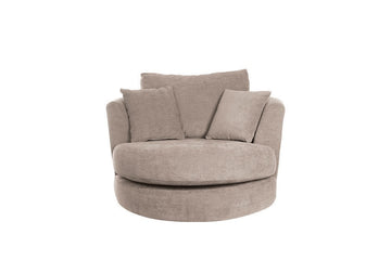 Elgar | Swivel Chair | Helena Taupe
