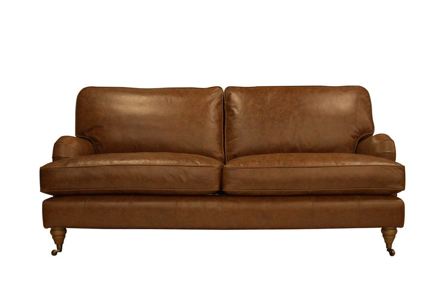 Duke | 3 Seater Sofa | Vintage Chestnut