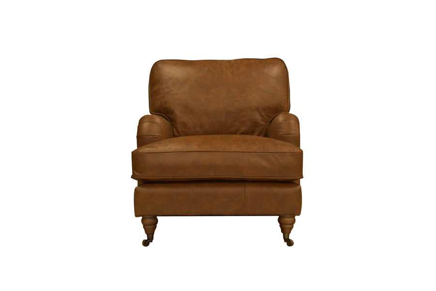 Duke | Armchair | Vintage Chestnut